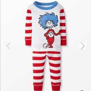 Hanna Andersson Dr. Seuss Thing 1 Pajamas